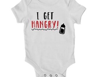 I Get Hangry Baby Onesie®