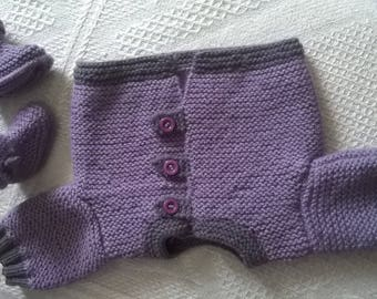 the first baby shoes and warm jacket set