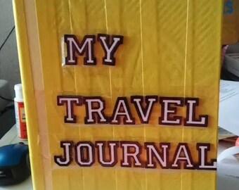 Yellow My Travel Journal Smashbook