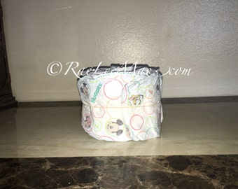 DIY Undecorated diapercake mini/1 tier diaper cake/Do-it-yourself mini diapercake baby shower decorations/baby shower diaper cake