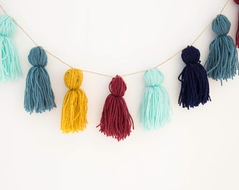 Tassel Bunting | 20 Pieces | Wool | 5 Colours