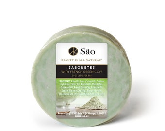 Sabonetes with French Green Clay 4-Pack
