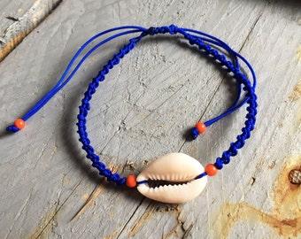 Shell link bracelet