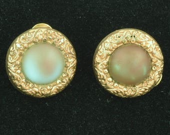 Antique Saphiret Accessory Collar Stays Cufflinks Gold Plated Dated 1884 ~ 1551