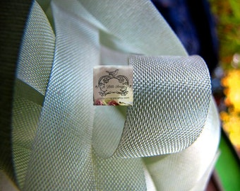 Rayon Seam Binding Ribbon Aloe Green