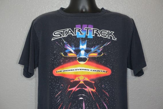 1991 Star Trek VI - The Undiscovered Country Vintage T-Shirt