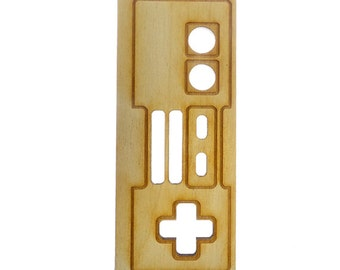 Classic Game Controller Ornament - Gamer Ornament - Gift for Gamer - Video Controller - Video Game Ornament