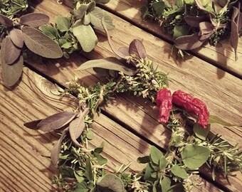 Warming Herb Wreath