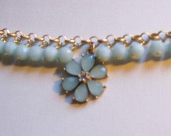 Gemstone dangle bracelet 0104FB