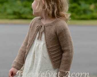 KNITTING PATTERN-The Topaz Cardigan (6m, 12/18m, 2, 4, 6, 8, 10, 12, 14, xs, s, m, m/l, l, xl, xxl, 3xl, 4xl)