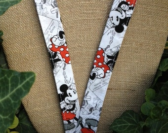 Disney Lanyard ID Holder Badge Holder Vintage look