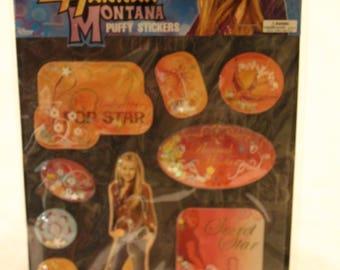 Livraison gratuite! Disney Channel Hannah Montana Puffy Stickers - neuf dans emballage - 9 autocollants puffy - Scrapbooking et carterie - SNSS1