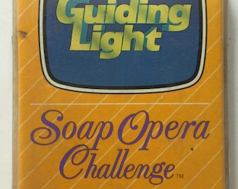 The GUIDING LIGHT Soap Opera Challenge Card Game 1987