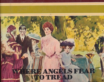Vintage Book - Novel Collection - E.M. Forster - hardcover
