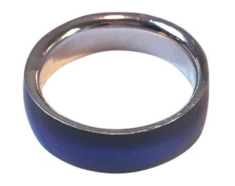 Mood Ring / Nostalgia/ Nostalgic Jewelry / Stainless Steel Ring / Boho Jewelry/ Best Friend Gift / Gift Idea / Gift for Mom / Gift for Her