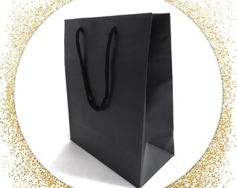 Black Gift Bag for All Purposes