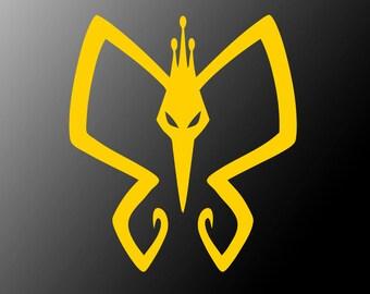 Venture Bros. Monarch Logo vinyl sticker decal