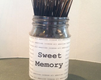 Hand Dipped Incense ~ NO BURN Incense ~ May be used as a potpourri before burning ~ Long Lasting