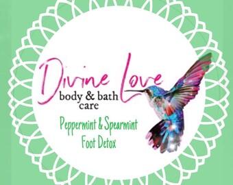 Peppermint & Spearmint Foot Soak /Detox