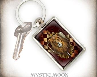 Keychain / Bravery / Potter Gift Art  /Nerd Gifts  / Key Chain / Purse Charm  / Teacher Gift / School of / Magic /Wizardry / HP