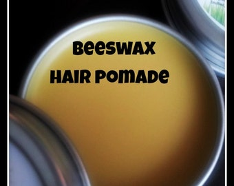 NATURAL HAIR POMADE, Organic Hair Pomade, Shea Butter Hair Pomade, Beeswax Hair Pomade, Natural Hair Styling Wax, Organic Hair Wax,
