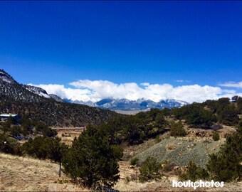 Blue Skies in Colorado