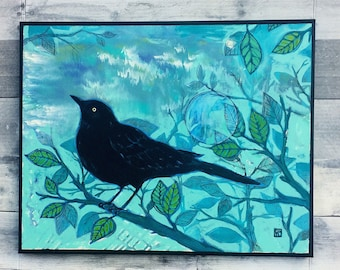Blackbird - Original Painting
