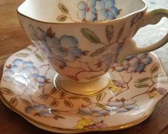 Foley English Bone China Teacup and plate, Foley English Bone China, Foley China, Vintage Teacups, Antique Teacups
