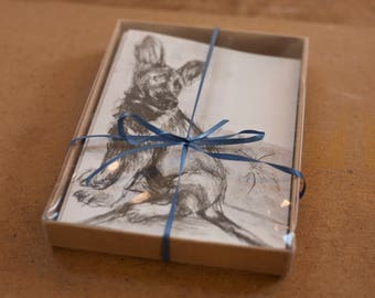 Ronnie the Working Dog Greeting Cards