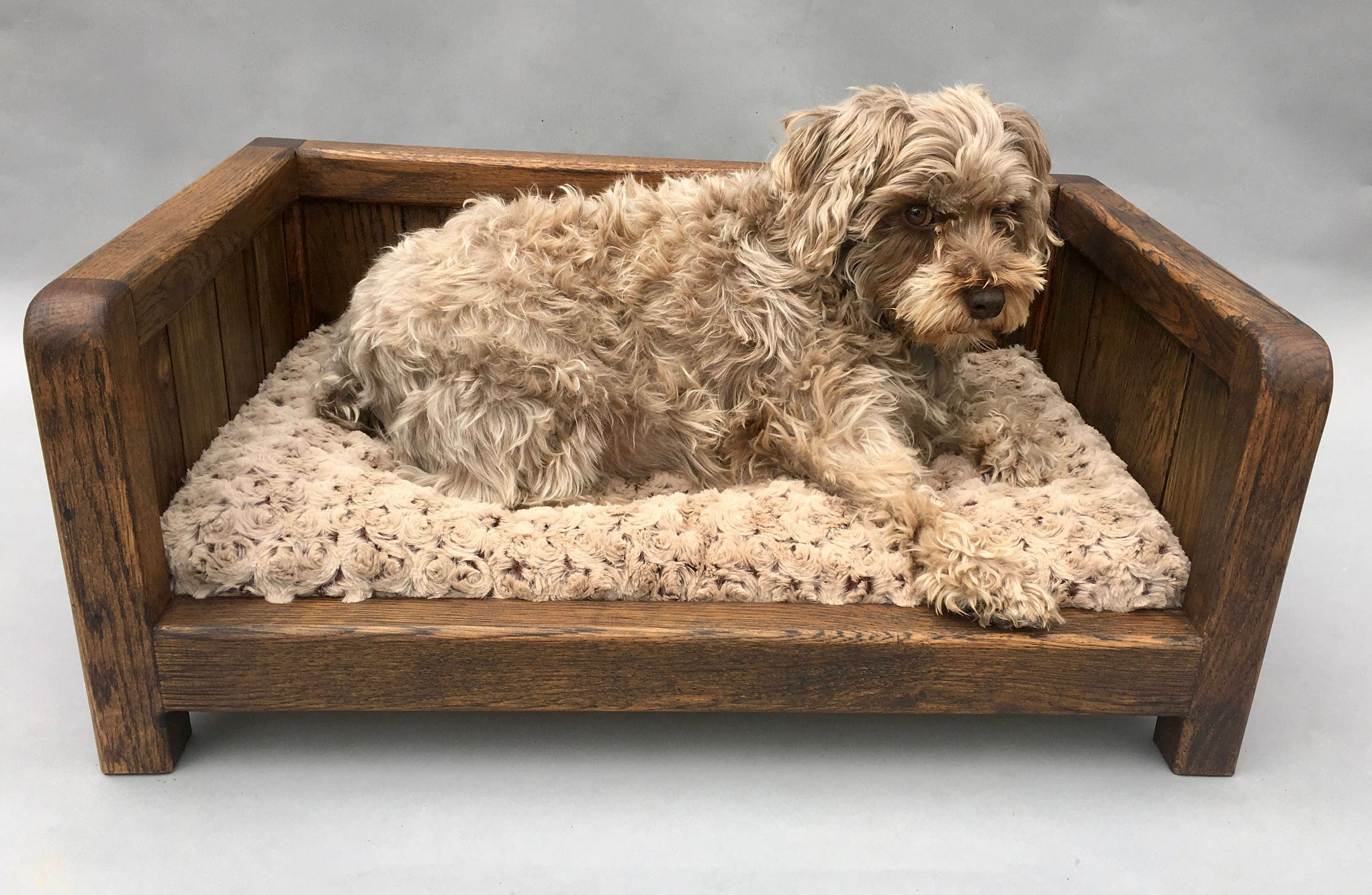 rectangle orthopedic product bed big dog super lounge pet snoozer p beds w wcream ortho cream sherpa