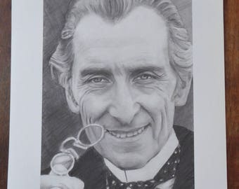 Peter Cushing Limited Edition Fine Art Print
