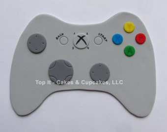 Fondant Cake Topper - Video Game Controller