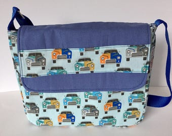 Children's bag shoulder bag kids handbag cars Boys