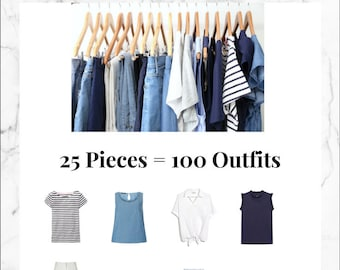 The French Minimalist Capsule Wardrobe: Summer 2018 Collection