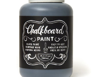 Chalkboard Paint, 16.5-Ounce, Black  U.S.A. Seller with Fast Shipping