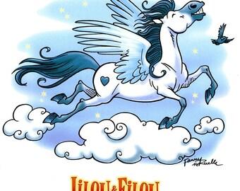 """Print color """"Trickster Pegasus"""""""