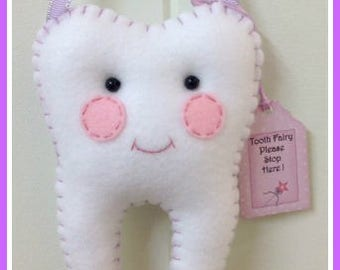 Tooth Fairy Pillow - Purple