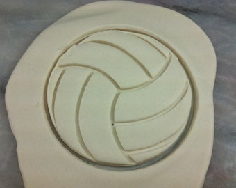 Volleyball Cookie Cutter - SHARP EDGES - FAST Shipping - Choose Your Own Size!