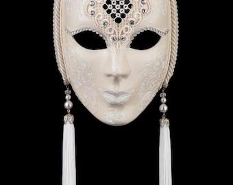 Venetian Mask White Penelope