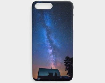 Phone Case, iPhone 7/8, 7/8 Plus, 6/6S & Plus, 5/5S, Samsung Galaxy S4/S5/S6/S7/S8, Night Sky, Milky Way, Starry Night, Blue, Astro Photo
