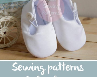 Christening Shoes SEWING PATTERNS Baptism Shoes patterns White Wedding Shoes  Baby Shoes  Boys Shoes Girl Toddler Shoes, 1610 patterns