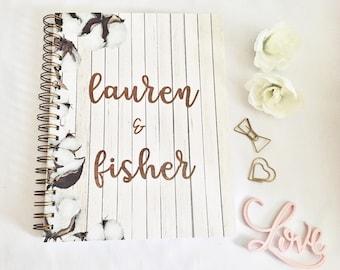 Personalized Wedding Planner wedding planner book wedding
