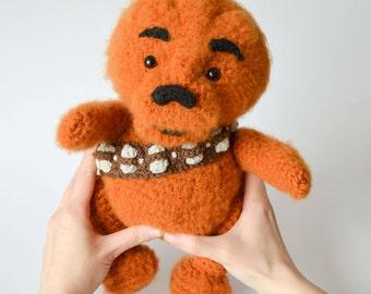 Crochet PATTERN No 1711 Winnie the Chew by Krawka