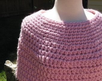 Crochet Caplet, 3 Hour Chunky Crochet Caplet, PDF Pattern