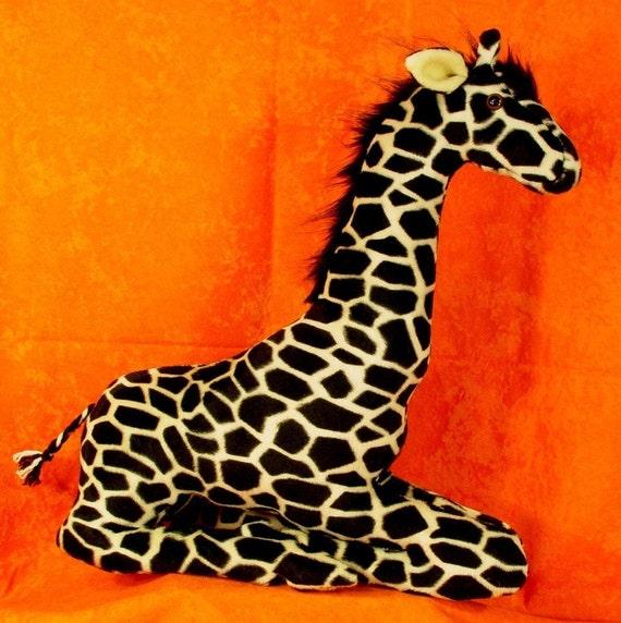 Nähen Muster machen eine Mutter Giraffe Tieren-Design von