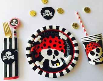 Pirate Party, Pirate Decor, Pirate Birthday, Pirate Party in a Box
