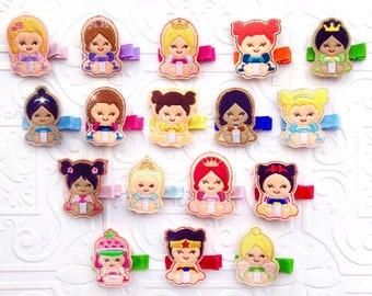 The Princess Collection Feltie Headband or Clip