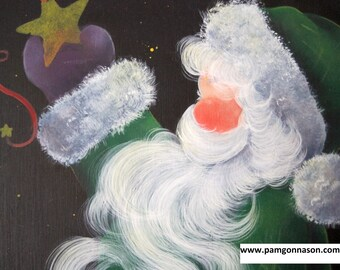 """Decorative Painting Pattern Packet """"Stars for Santa"""""""