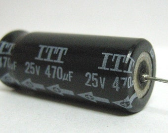 Electrolytic capacitor 470uF 25V