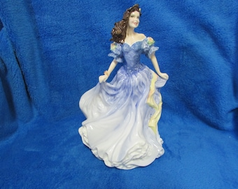 Vintage Royal  Doulton porcelain figurine - Pretty ladies - Rebecca - Figurine of the year 1998